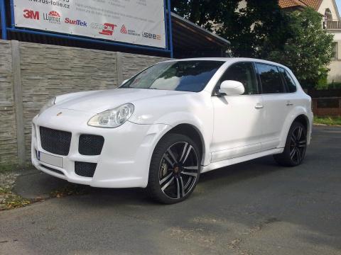 Porsche Cayenne - Rusfolie 1